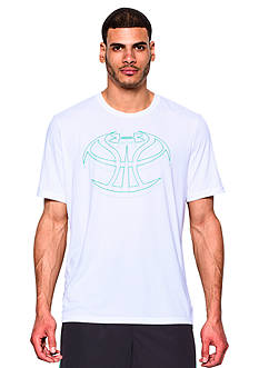Under Armour 3D Mapped Basketball Icon Graphic Tee