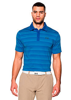 Under Armour coldblack® Chip In Stripe Polo Shirt