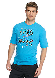Under Armour Lead Speed Screen Print Graphic Tee