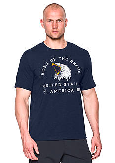 Under Armour Wounded Warrior Project Home of the Brave Graphic Tee