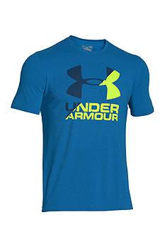 Under Armour Logo Split Tee