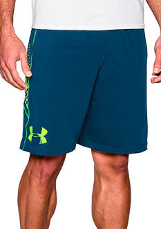 Under Armour 10-in. Raid Graphic Shorts