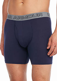 Under Armour Charged Cotton® Stretch 6-in. Boxerjock® Boxer Briefs - 3 Pack