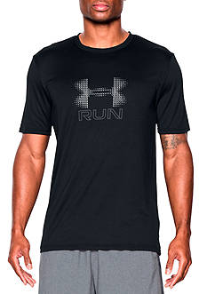 Under Armour Short Sleeve Run Icon Graphic Tee