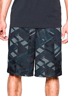 Under Armour 11-in Triangle O Printed Shorts