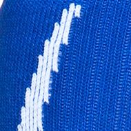 Under Armour: Royal/White Under Armour Undeniable Crew Socks