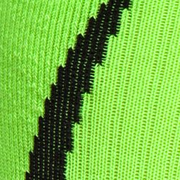 Mens Running Clothes: Hi Vis Yellow/Black Under Armour Undeniable Crew Socks