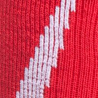 Everyday Essentials: Socks: Red/White Under Armour Big & Tall Undeniable Crew No Show Socks