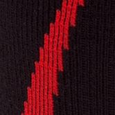 Big and Tall Socks: Black/Red Under Armour Big & Tall Undeniable Crew No Show Socks