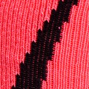 Big and Tall Socks: Cerise/Black Under Armour Big & Tall Undeniable Crew No Show Socks