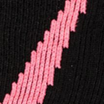 Everyday Essentials: Socks: Black / Cerise Under Armour Big & Tall Undeniable Crew No Show Socks