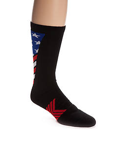 Under Armour Undeniable Stars & Stripes Athletic Crew Socks - Single Pair