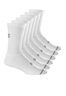 Under Armour® 6-Pack Athletic Crew Socks
