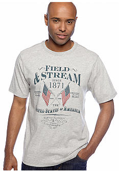 Field & Stream Flags Screenprint Tee