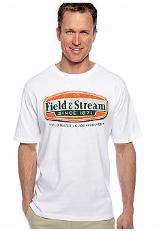 Field & Stream Logo Screenprint Tee