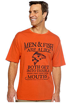 Field & Stream Men and Fish Tee