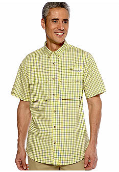 Field & Stream Plaid Vented Fishing Shirt