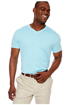 MADE Cam Newton Big & Tall Blue Topaz V-Neck Tee
