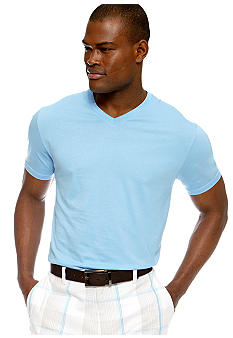 MADE Cam Newton Big & Tall Blue Sky V-Neck Tee