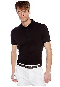MADE Cam Newton Big & Tall True Black Solid Polo