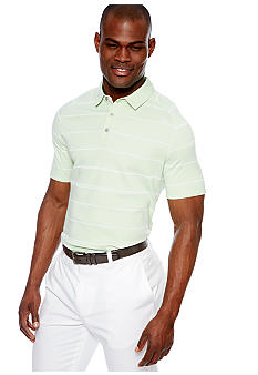 MADE Cam Newton Big & Tall Mint Stripe Polo