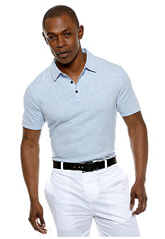 MADE Cam Newton Big & Tall Sky Blue Top Dye Polo
