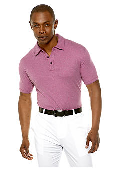 MADE Cam Newton Big & Tall Fuschia Top Dye Polo