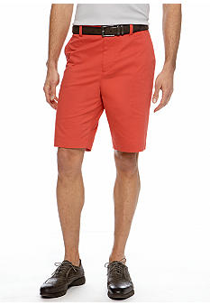 MADE Cam Newton Big & Tall Salix Coral Flat Front Shorts