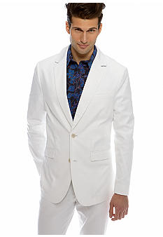 MADE Cam Newton Big & Tall White Blazer