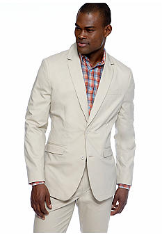 MADE Cam Newton Big & Tall Khaki Blazer