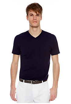 MADE Cam Newton Preppy Navy V-Neck Tee