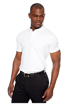 MADE Cam Newton White Solid Polo
