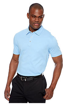 MADE Cam Newton Blue Sky Solid Polo