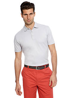 MADE Cam Newton Silver Ray Solid Polo