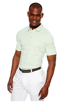 MADE Cam Newton Mint Stripe Polo