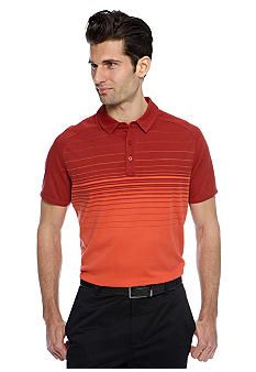 MADE Cam Newton Coral Bay Ombre Stripe Polo