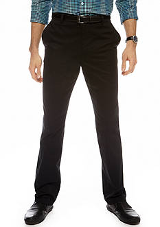 MADE Cam Newton Modern Fit Essential Chino Flat Front Pants