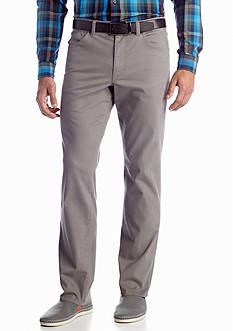 MADE Cam Newton Modern Fit Titan Flat Front Pants