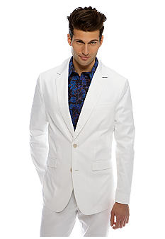 MADE Cam Newton White Blazer