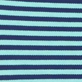 MADE Cam Newton: Turquoise Stripe MADE Cam Newton Short Sleeve Stretch Striped Polo Shirt