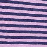 MADE Cam Newton: Purple Stripe MADE Cam Newton Short Sleeve Stretch Striped Polo Shirt