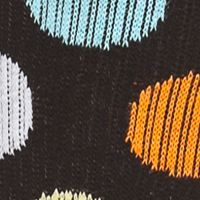 Men's Activewear: Shop By Activity: Black Combo Happy Socks Men's Big Dot Athletic Crew Socks - Single Pair