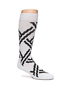 Happy Socks Men's Athletic Chain Print Crew Socks - Single Pair