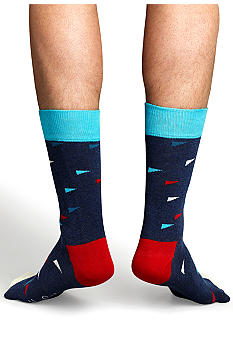 Happy Socks Flag Print Socks - Single Pair