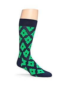 Happy Socks Men's Lily Crew Socks - Single Pair