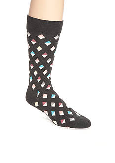 Happy Socks Men's Mini Diamond Crew Socks - Single Pair