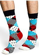 Happy Socks® Argyle Crew Socks - Single Pair