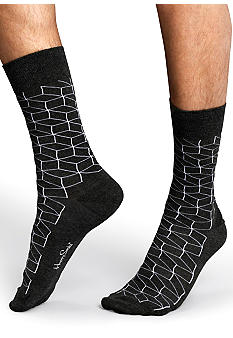 Happy Socks Geo Crew Socks - Single Pair