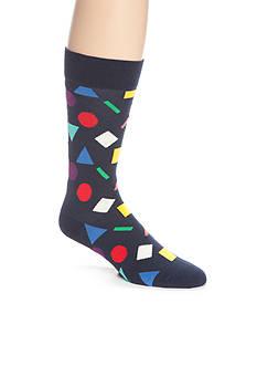 Happy Socks Men's Play Shapes Crew Socks - Single Pair
