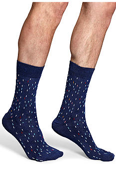 Happy Socks Space Dot Crew Socks - Single Pair